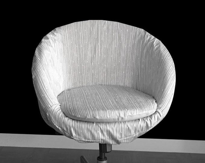 Scribble Grey IKEA SKRUVSTA Chair Cover
