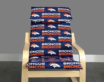 Broncos IKEA KIDS POÄNG Cushion Slipcover Ready to Ship