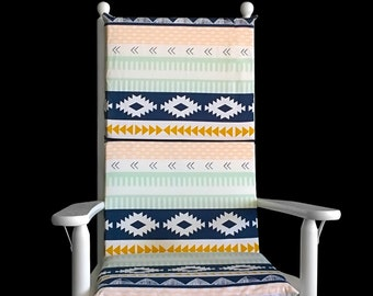 Preppy Adjustable Rocking Chair Cover And Inserts