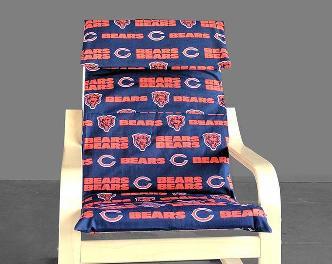 SALE Kids Chicago Bears Ikea Poang Chair Cover