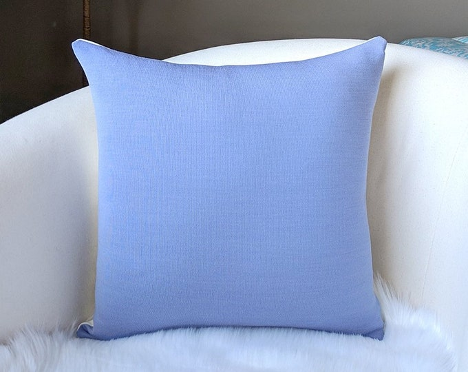Solid Lavender Purple Cushion Cover