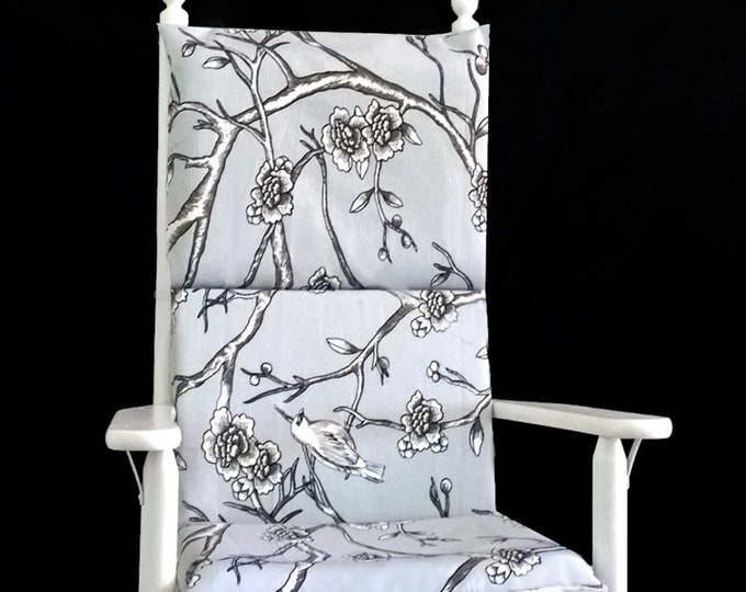 Flowers Rocking Chair Cover