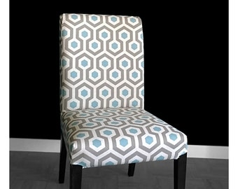 Geometric HENRIKSDAL Dining Chair Cover