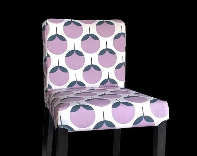 Lavender Custom IKEA HENRIKSDAL Bar Stool Chair Cover, SALE