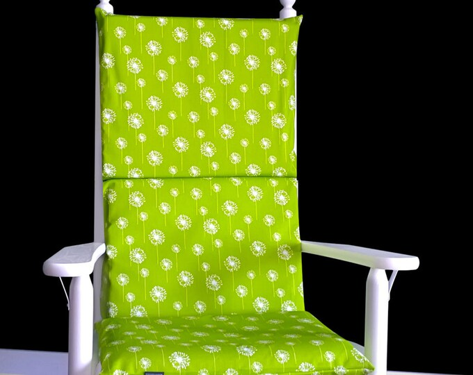 Dandelion Rocking Chair Cushion
