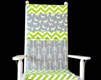 Deer Rocking Chair Cushion Cover