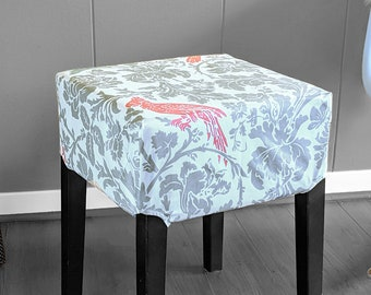 Pink Cockatoo Stool Cover for IKEA Nils