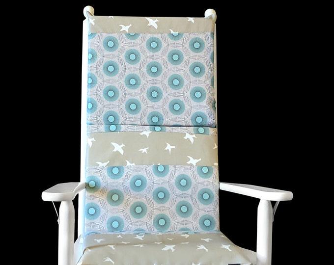 Flying Birds Rocking Chair Cushion