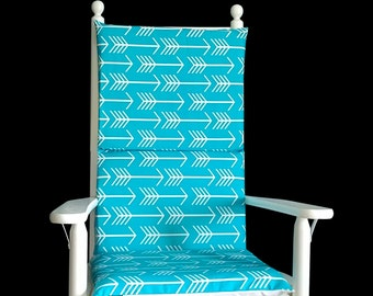 Adjustable Rocking Chair Cover, Arrows Rocking Chair Pad Covers