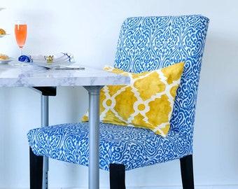 SALE Regal Print IKEA HENRIKSDAL Dining Chair Cover, Indian Sri Lanka Style Henriksdal Slipcover