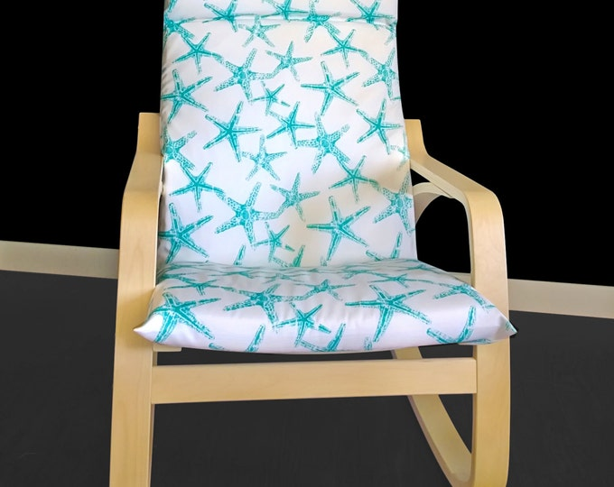 Starfish IKEA POÄNG Cushion Slip Cover - Sea Friends Ocean