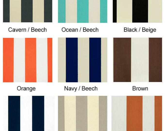 Custom Cabana Stripe Outdoor Ikea Arholma Furniture Covers - *Fits Ikea ONLY*