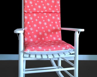 Nursery Room Rocking Chair Cover, Dandelion Flower Chair Cover