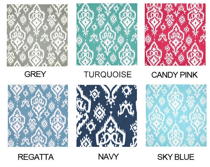 Colorful Ikat Indian Ikea Chair Covers