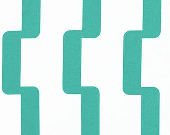 Turquoise Blue Print, Indoor/ Outdoor Ikea Seat Slip Covers