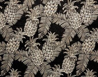 Ikea Seat Covers, Indoor Outdoor Black Pineapple Print