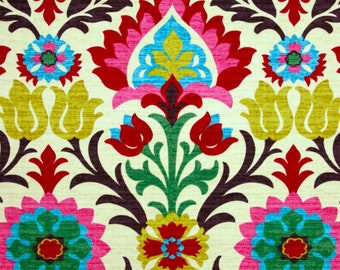IKEA Chair Covers, Colorful Mexican Damask Print