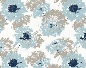 Blue Flowers, Gray Beige IKEA Covers, Fairy Spa