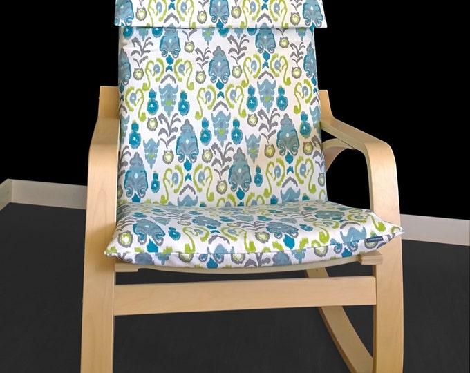 Unique IKEA POÄNG Cushion Slipcover - Neda Birch Frost