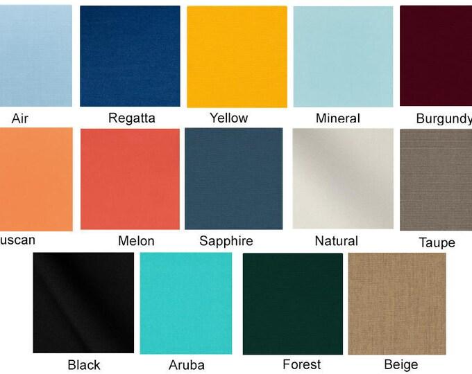 Custom Ikea Arholma SUNBRELLA Outdoor Canvas Solids, Outdoor Furniture Covers