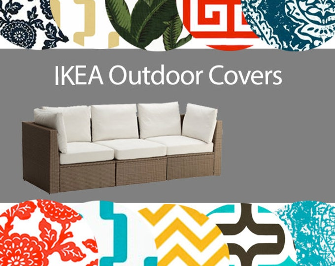 IKEA OUTDOOR Slip Cover, Multiple Prints Outdoor Covers