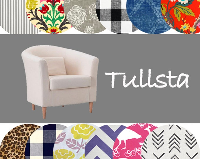 Customized Ikea Chair Covers, Tullsta Slipcover