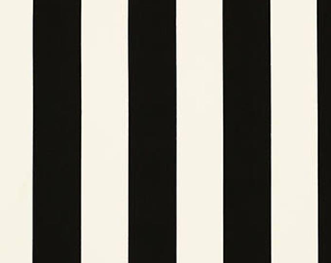 Custom Black White, Cabana, Canopy Stripe