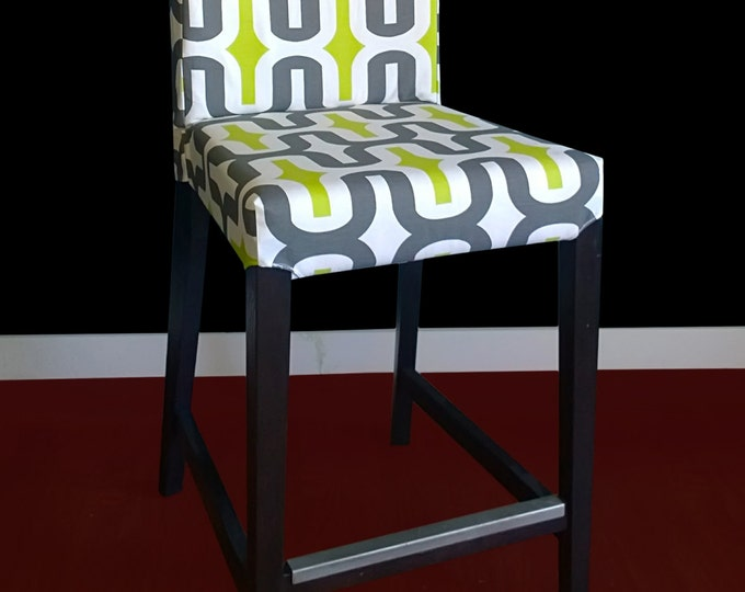 SAMPLE SALE Ikea HENRIKSDAL Bar Stool Chair Cover - Embrace Macon, Ready to Ship