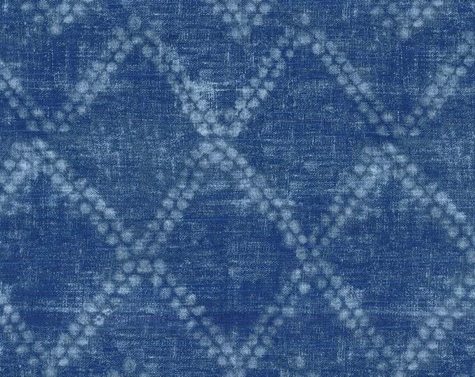 Indigo Blue Shibori Diamond, Ellen Degeneres Custom Ikea Seat Covers