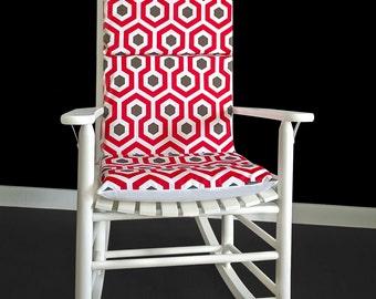 Hexagon Adjustable Rocking Chair Pad
