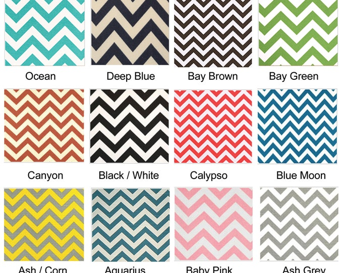 Custom Ikea Zig Zag Chevron Covers