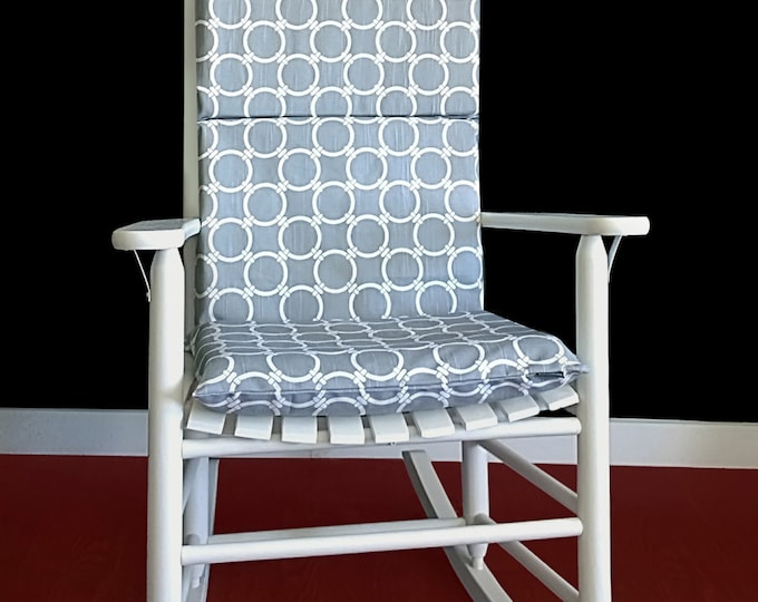 Circles Rocking Chair Cushions And Pads