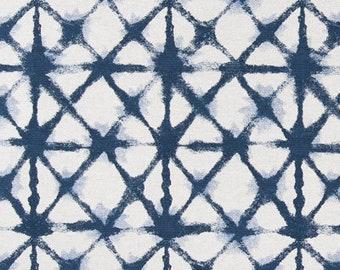 Reserved Listing - IKEA NILS Chair Slip Cover, Premier Prints Shibori Indigo Net
