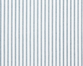 NAVY BLUE Ticking Stripe IKEA Covers, Farmhouse Traditional Style Ikea Chair Covers