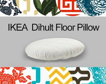 IKEA Pouf Cover, Dihult Slipcover, Ikea Floor Pillow Covers, Ikea Beanbag Covers, Dog Bed Replacement Cover