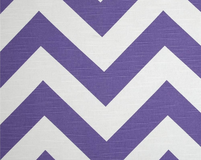 Custom Big Bold Purple Chevron Ikea Covers
