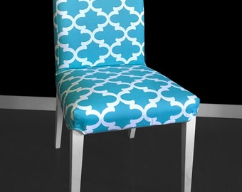 Blue India IKEA HENRIKSDAL Dining Chair Cover