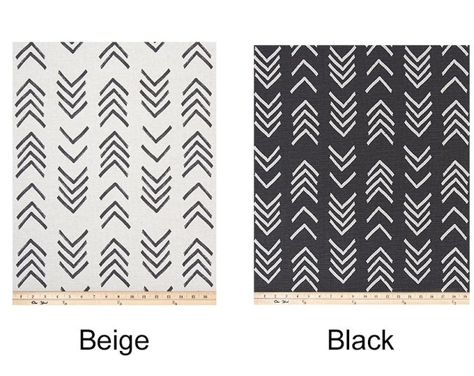 Arrows Mud Cloth African Print, IKEA Slip Covers and Pillows