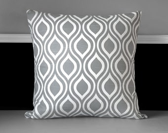 "Bold Teardrop Pillow Cushion Cover 20"" x 20"""