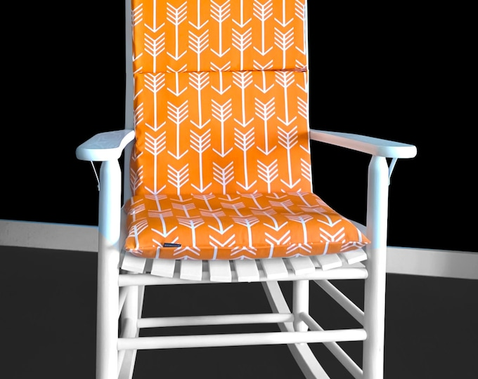 Foam Inserts And Covers For Rocking Chair, Arrow Print Rocking Chair Cover