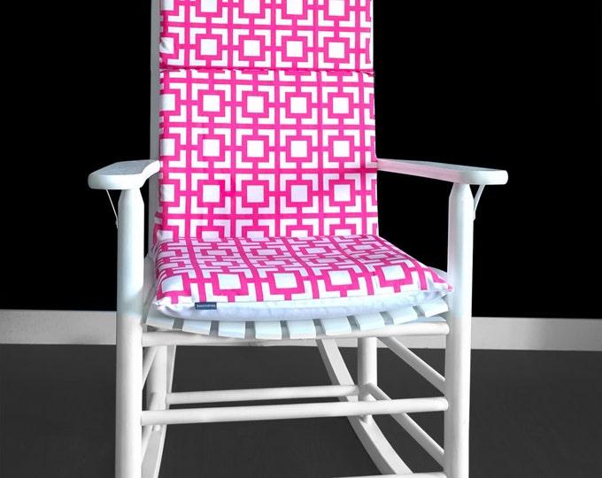 Women's Pink Rocking Chair Cushion