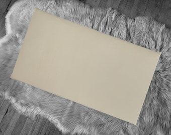 Solid Tan Taupe IKEA Window Seat Cushion Cover