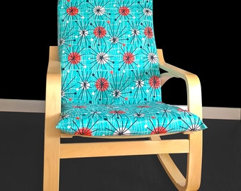 Atoms IKEA POÄNG Cushion Slipcover