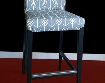 Arrow HENRIKSDAL Gray Bar Stool Chair Cover