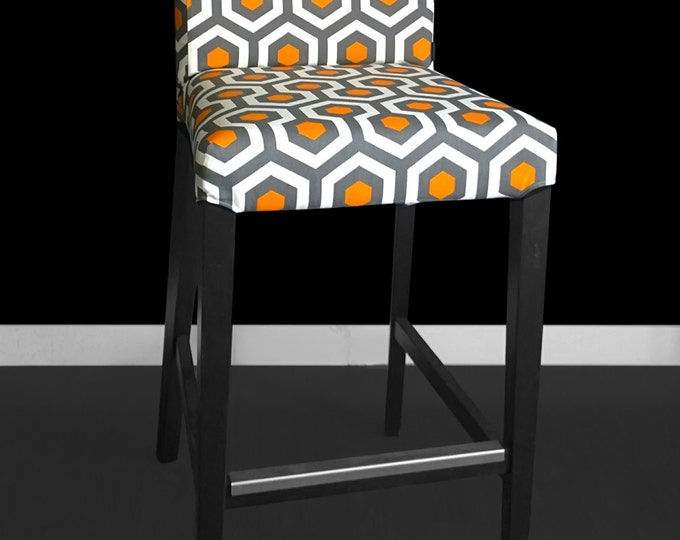 Hexagon Honeycomb HENRIKSDAL Stool Chair Cover