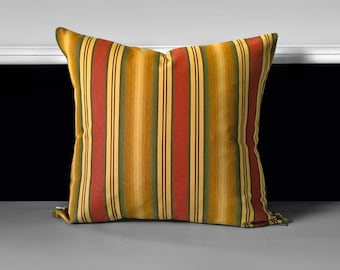"""Retro Style Brown Cushion Covers 18"""" x 19"""""""