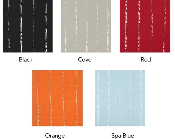 Custom Ikea Colorful Line Dot Print Chair Covers