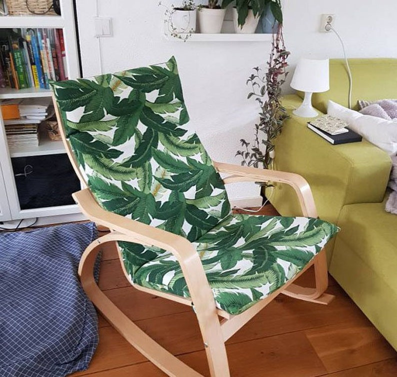 Ikea Poang Chair Covers Tropical Leaf Summer House Ikea Decor Tommy Bahama Indoor Outdoor Jungle Chair Cover