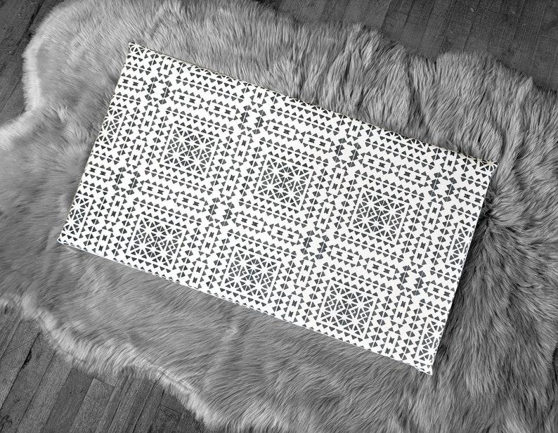 Spagnolo piastrelle pattern ikea stuva panca pad slittamento etsy