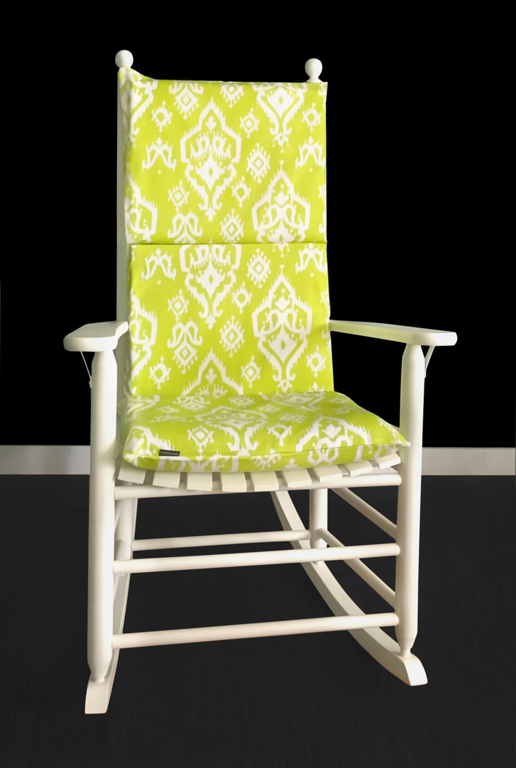 Superb Lime Green Indian Style Rocking Chair Cushion Cover Pdpeps Interior Chair Design Pdpepsorg